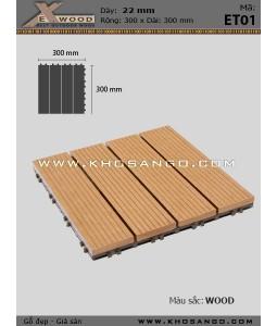 Vỉ Gỗ Nhựa Exwood ET01-4-wood