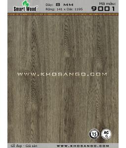 Sàn nhựa hèm khoá Smartwood 9001