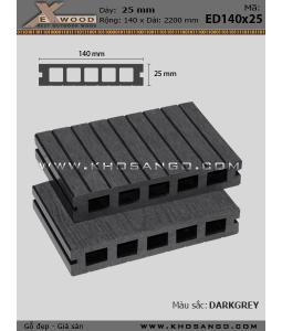Sàn gỗ Exwood ED140x25-5-darkgrey