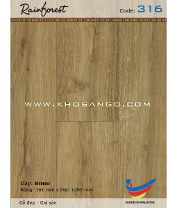 Sàn gỗ Rainforest 316
