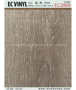Sàn nhựa EC Vinyl EC2805