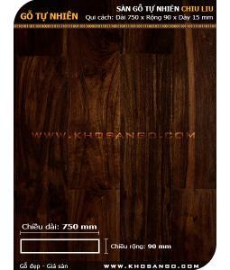 Sàn gỗ Chiu liu 750mm