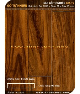 Sàn gỗ  Giá tỵ ( Teak ) 1050mm