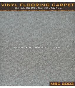 Sàn nhựa vân thảm MSC2003