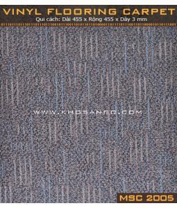 Sàn nhựa vân thảm MSC2005