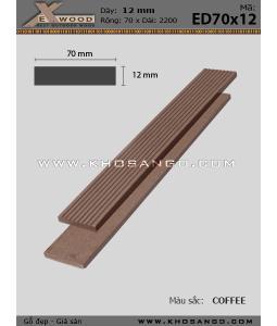 Exwood Plank ED70x12-coffee