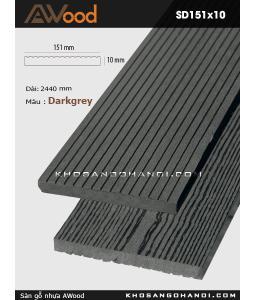 Awood Decking SD151x10-Darkgrey
