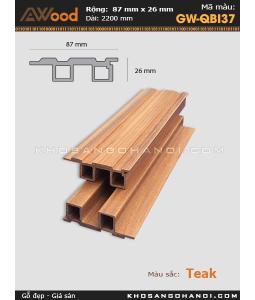 Awood Flooring GW-QBI37-Teak