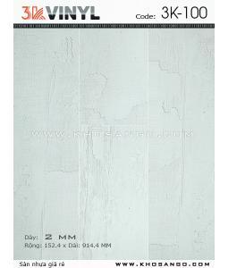 Sàn nhựa 3K Vinyl K100