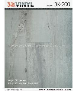 Sàn nhựa 3K Vinyl K200