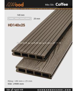 Awood Decking HD140x25-4-coffee