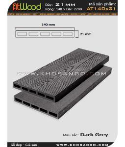 ván sàn ngoài trời AT140x21 dark grey