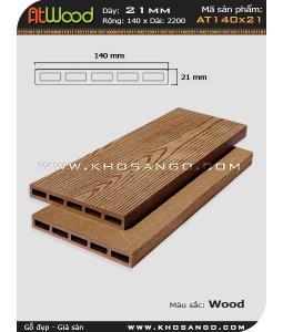 ván sàn ngoài trời AT140x21 wood