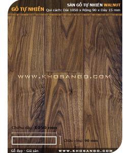 Walnut hardwood flooring 1050mm